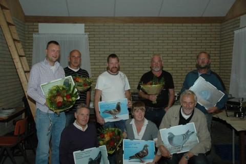 Winnaars seizoen 2008